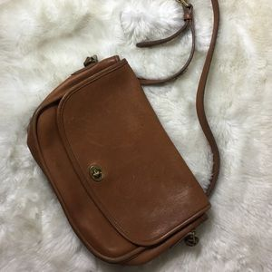 Vintage coach bag Multiple Pockets Crossbody women
